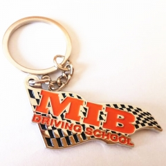 Customised Soft Enamel Metal Keyrings